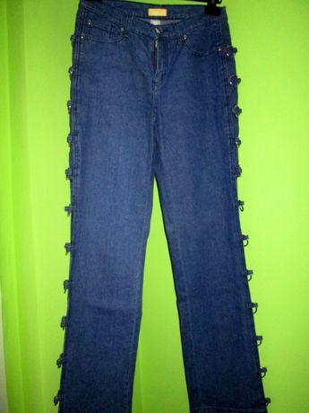 jeansy zdobione - roz 38