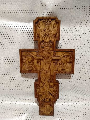 Крест с дерева дуба