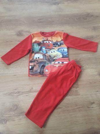 ciepła polarowa piżama 98/104