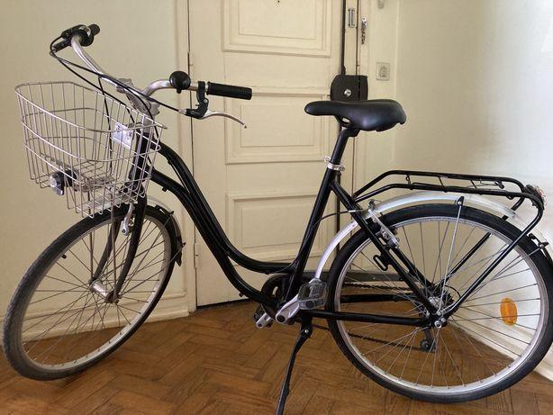 Bicicleta preta + extras