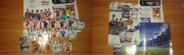 Наклейки, стикеры, карточки Panini UEFA ЛЧ 2010-2011, 11-12 гг. Футбол