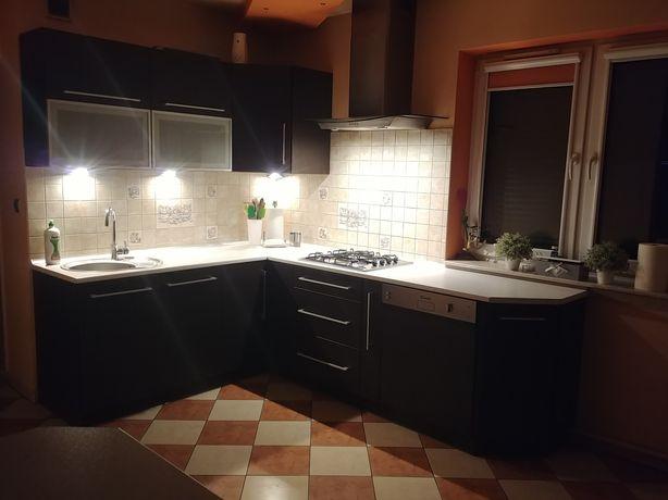 Meble kuchenne w kolorze wenge