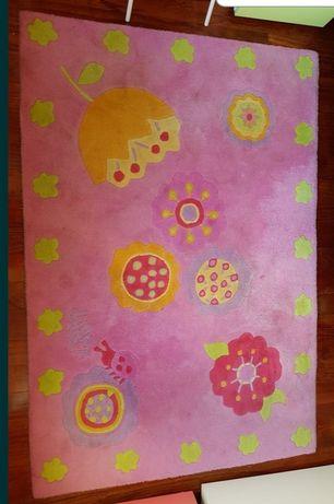 Carpete de Criança tons Rosa