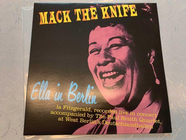 FITZGERALD: Ella In Berlin - MACK THE KNIFE (limited: BLUE) (STAN: NM)