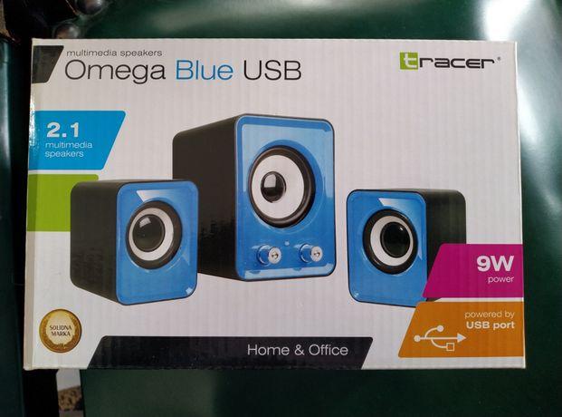 Głośniki 2.1 Tracer Omega Blue USB