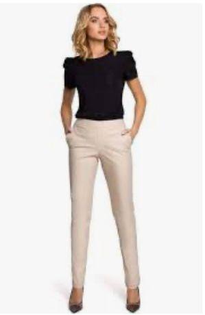 Spodnie Max Mara rozmiar M/L kolor ecru