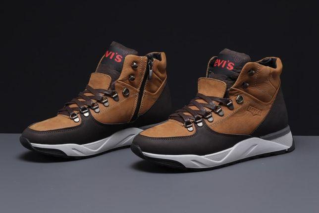 Обувь. Levi's 31621, ботинки, ливайс. Мужские, натуральные. Замша