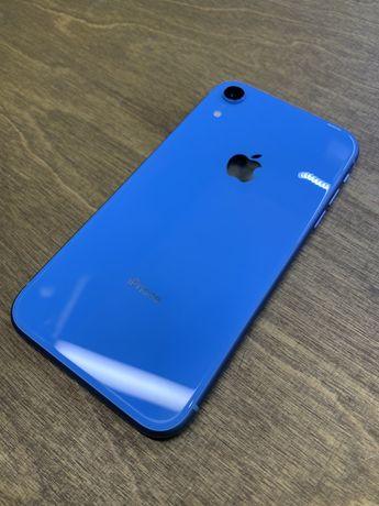 IPhone Xr 64 Blue Neverlock Гарантия до 12 мес Магазин