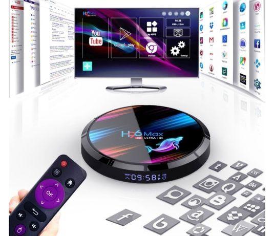 SmartTV приставка H96 Max X3 4gb/32гб смартТВ Андроїд бокс Android box
