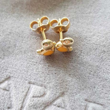 Złote kolczyki dla dziewczynki(Apart)
