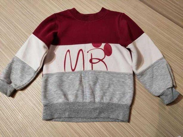 Пакет одежды на мальчика р. 110 кофты, футболки, шапка
