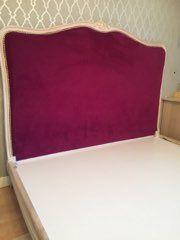 Łóżko francuskie shabby