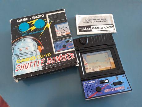 Game & Radio Cassio CG 70 na caixa com manual funcionando perfeitament