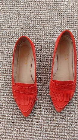 Sapatos Ruika vermelhos