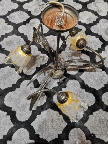Żyrandol+Żarówki LED