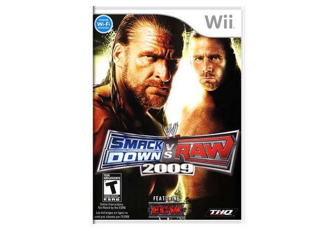 Wii - Jogo SmackDown VS Raw 2009