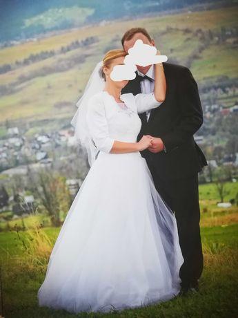 Suknia ślubna 166+5cm