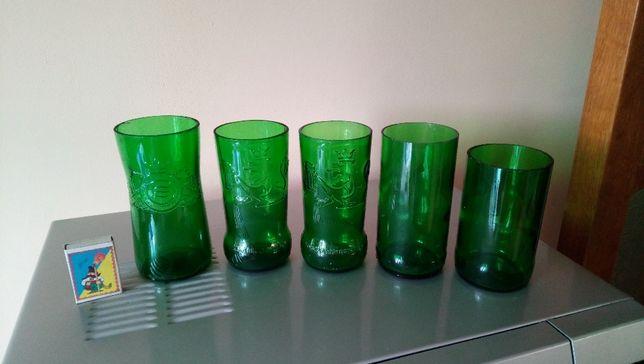 Стаканы вырезанные из бутылок. Ручная работа. Handmade glasses.