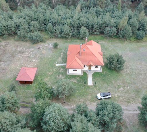 Dom 108m2 + bud. gosp. - 14a, Leśny zakątek - Rakszawa k. Łańcuta