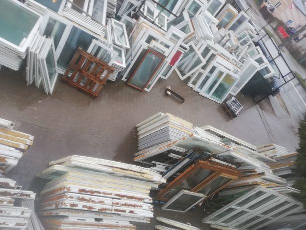 Okna pcv używane mega skład drzwi , witryny , szyby i inne