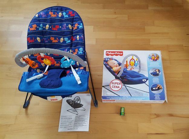 Leżaczek Fisher-Price z zabawkami , model H5126