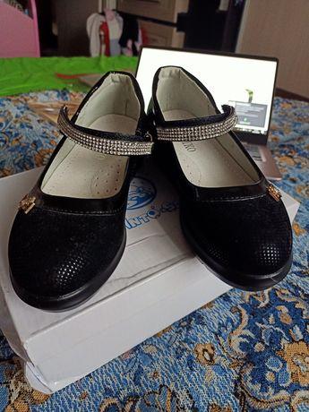 Туфли на девочку 29 р. (Стелька 18.7)