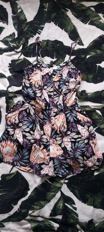 Kombinezon letni w kwiaty H&M roz. xs