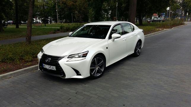 Lexus GS 200t/300h Salon PŁ 40 tys.kmPerla