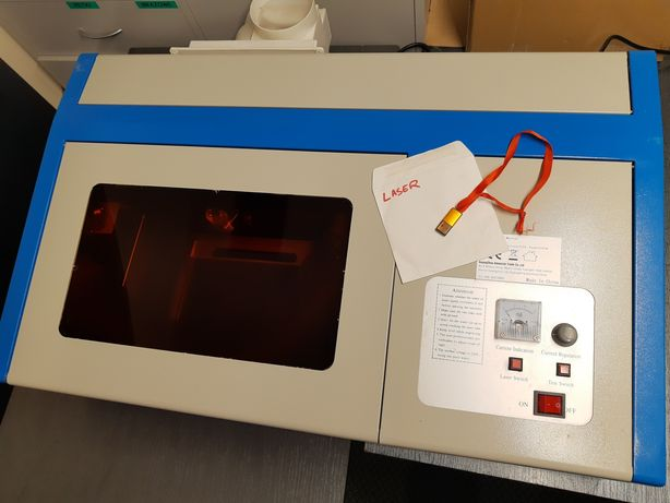 Laser CO2 K40 30x20. Grawer i cięcie. 40W