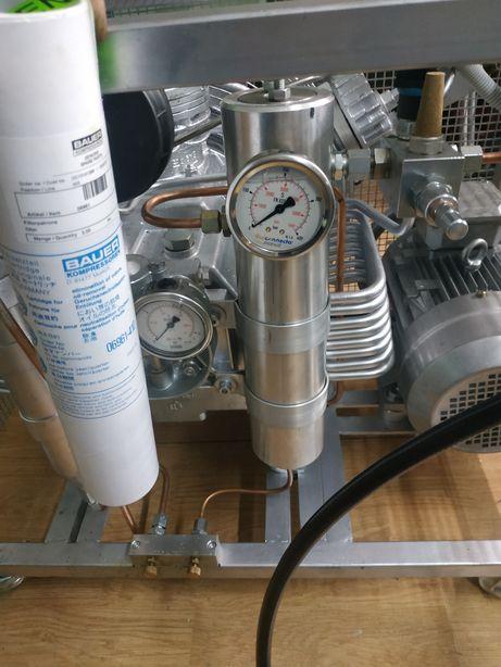 Filtr Bauer 300bar do kompresor sprężarka nurkowa do butli 300 bar