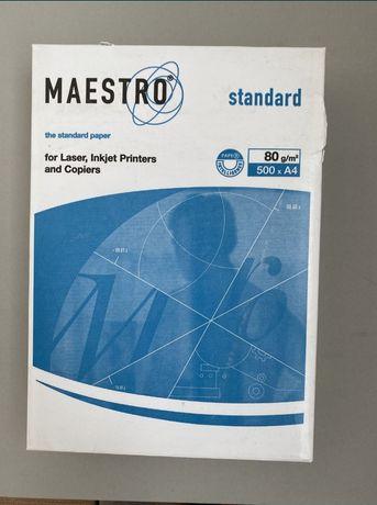 Папір Маестро стандарт 80г/м.кв 4 пачки по 500 листів