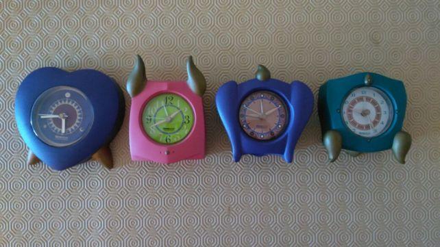 Relógios de mesa Timestone da Longford Design