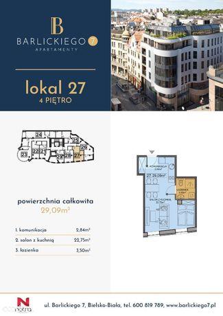 Ustawne Mieszkanie Barlickiego 7 M27