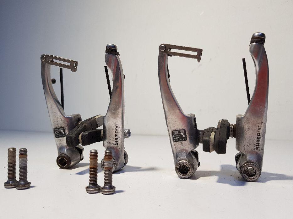 Hamulec komplet V-break Shimano Deore LX BR-M600 retro Końskie - image 1