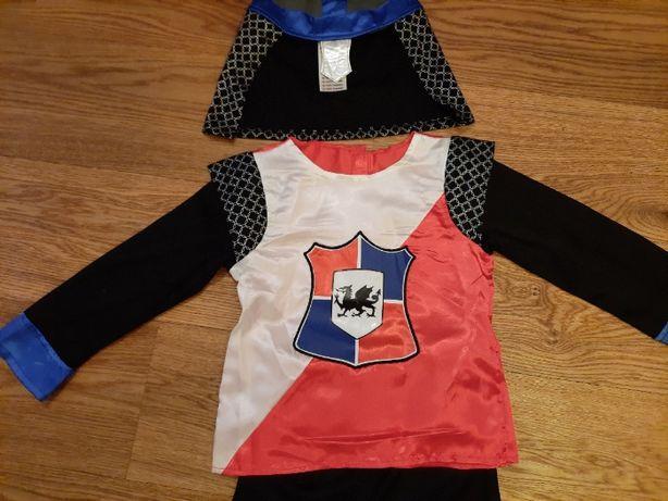 Strój, przebranie, kostium rycerza 3-5 lat (104 cm) -nowy
