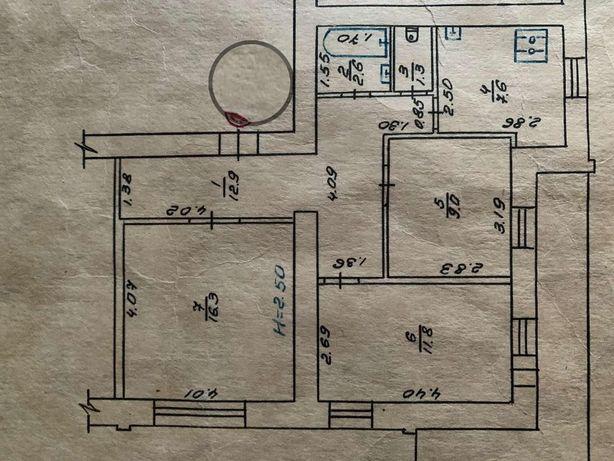 Реальная 3 ком квартира улучшенной планировки !!!