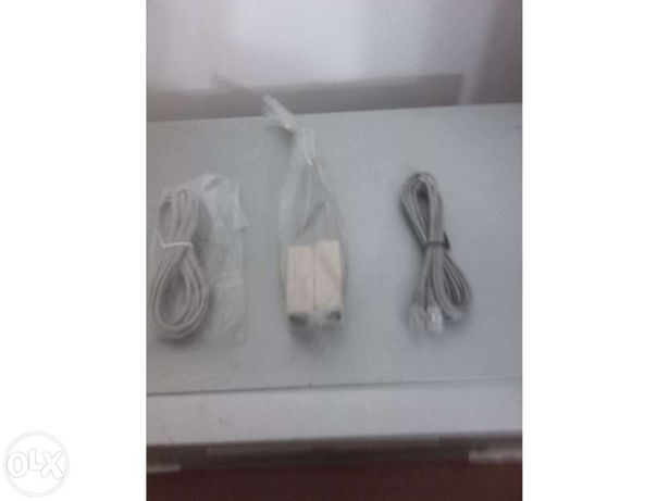 Filtros ADSL e fio de telefone
