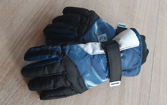 Rękawiczki narciarskie śniegowce dla 4, 5, 6 latka NOWE