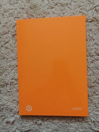 Sprzedam Pomarańczowy NEONOWY brulion B5 marki HERLITZ
