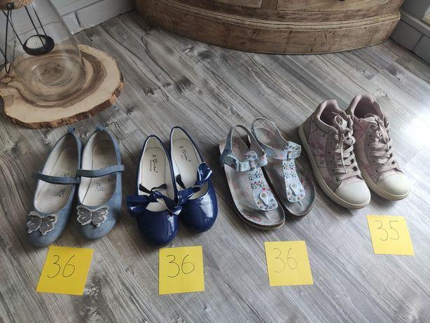 Buty dziecięce - dziewczęce.