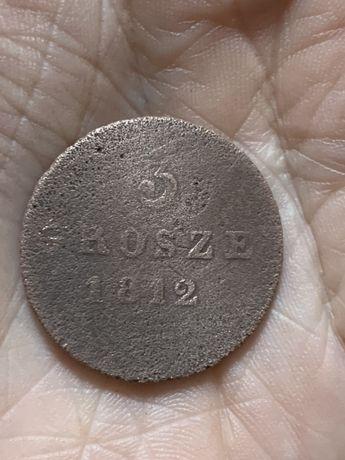 Монета Grosze 1812