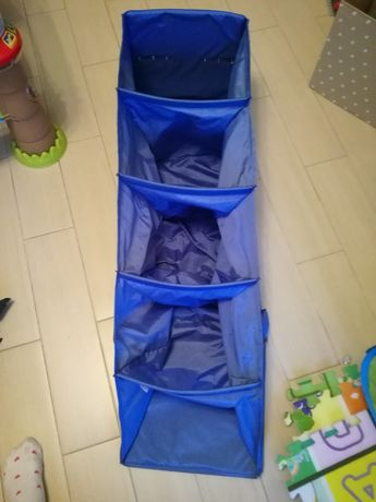 Półka materiałowa na ubrania IKEA