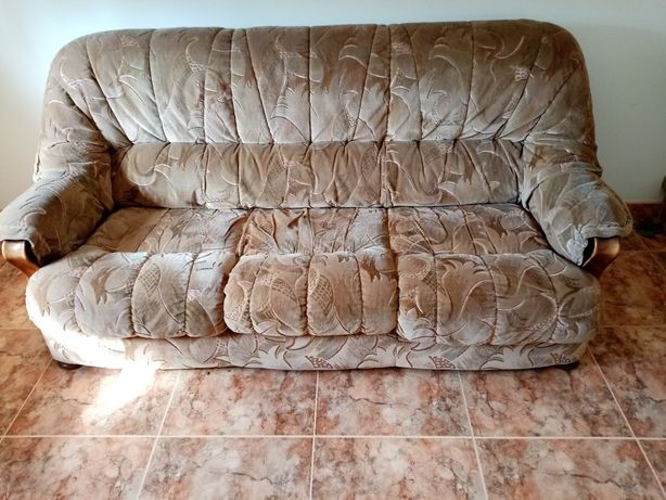 Sofá 3 lugares + 2 sofás individual