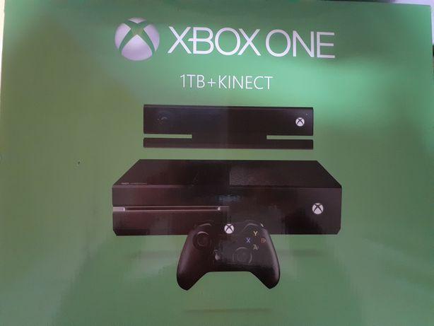 Xbox One +Kinect +pad