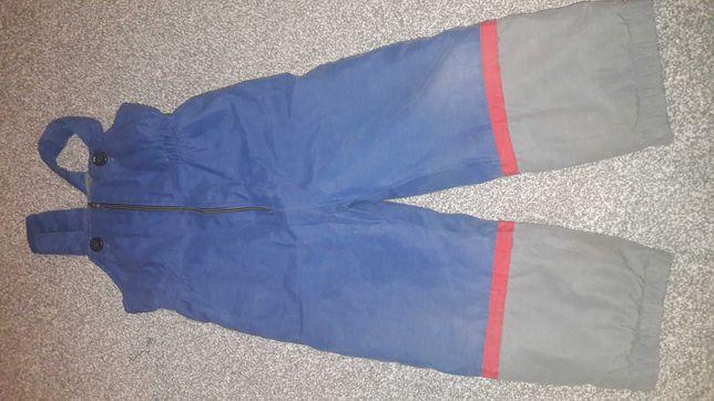 Spodnie ocieplane śniegowe 86