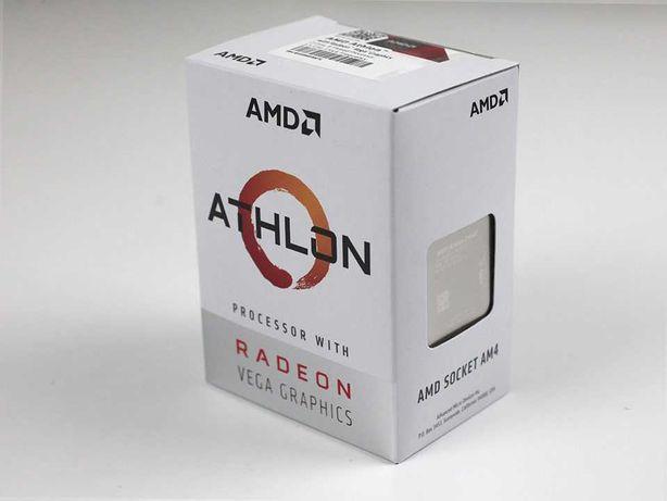 Processador AMD Athlon 3000G com placas de gráfica Radeon