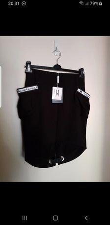 Spódnica z bufiastymi kieszeniami K. MADALIŃSKI