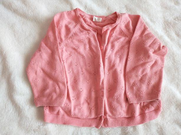 sweter H&M 74 ażurowy elegancki