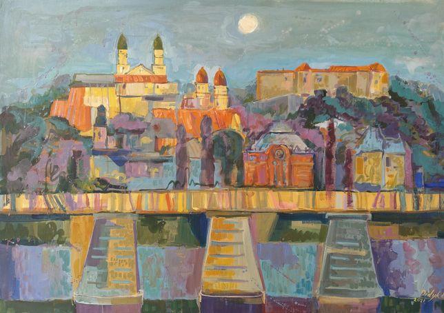 Композиція місто живопис