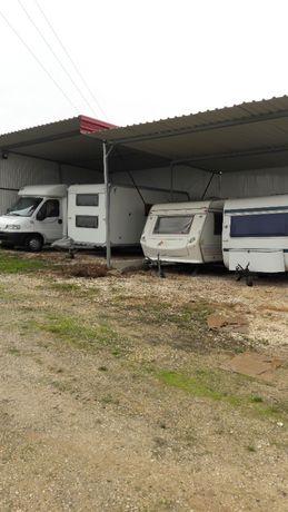 PARQUEAMENTO (OFERTA mês Agosto) Caravanas Autocaravanas